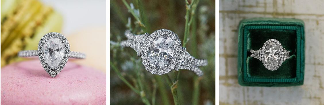 unique wedding rings shape